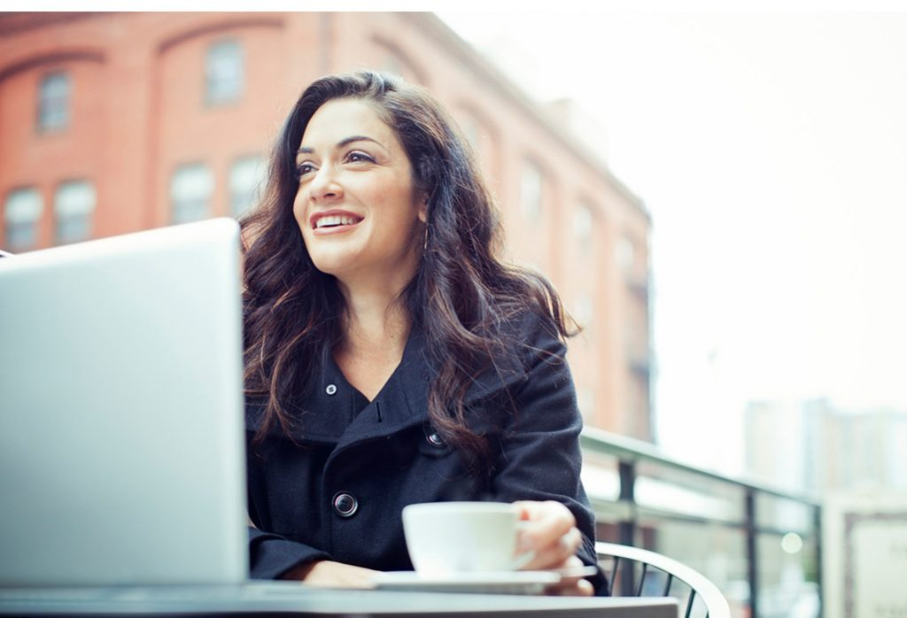 coffee on computer Tax preparation